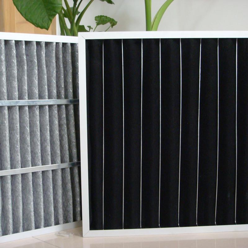 廠家供應鼎瞻凈化空氣過濾器 板式可更換式活性炭過濾器 吸附空氣中有害物質