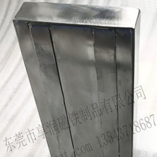 来图定做超强磁力分张器 带加强筋分料器 铁板强力分离装置