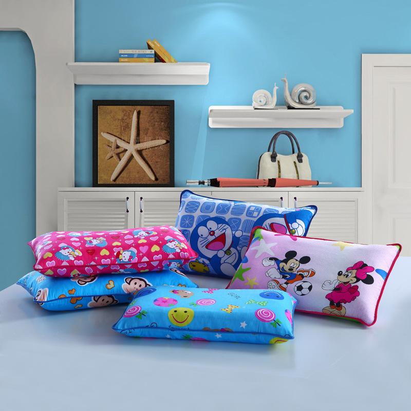 儿童荞麦枕舒适枕儿童学生决明子枕 卡通儿童枕 卡通枕 全棉枕套