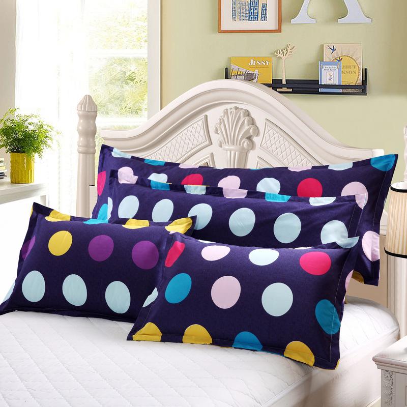 芦荟棉单双人枕套 枕套不是枕芯1.2 1.5 五*质量 特价批发
