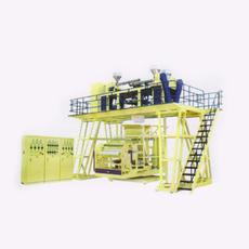 供应莱芜彩华机械厂家直销高机械强度多层共挤下吹吹膜机组