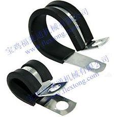 宝鸡福莱通供应R型管夹,U型线卡,穿线管固定夹,骑马卡,规格齐全