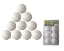 供应 高尔夫球双层礼品球 高尔夫球双层logo礼品球