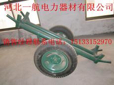北京一航批量 直销优质水泥运输大轮小轮单双杆工程运杆车