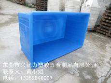 厂家供应:环保塑料方形水箱 一次成型光滑塑料拉丝桶 丝绸染织方形桶