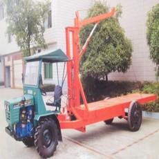 厂家直销湖南盘式拖拉机随车吊(配1吨随车吊)折腰式拖拉机