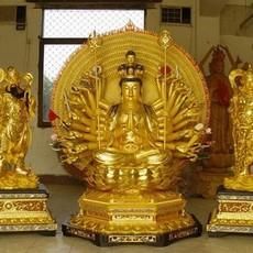 供应   昌盛铜雕 供应 各种观音铜像