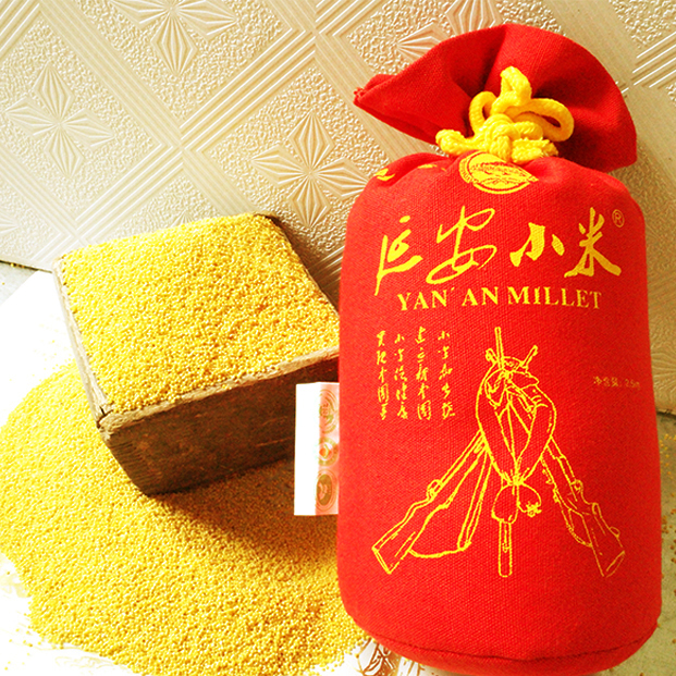 延安小米纺织袋装 延安黄小米 黄小米大量批发