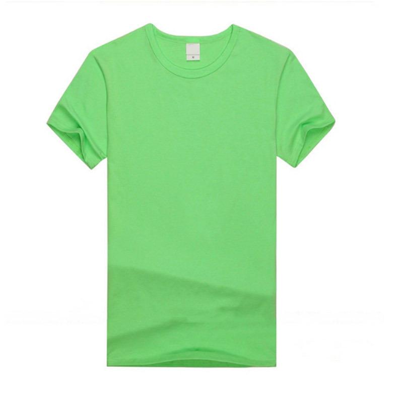 衣服定做文化衫 广告衫 工作服印图 圆领宽松纯棉