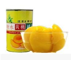 砀山砀城新鲜糖水黄桃罐头 425g12罐 整箱江浙沪皖包邮