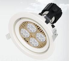 厂家热销嵌入式PAR30射灯35W 30W40WLED天花灯