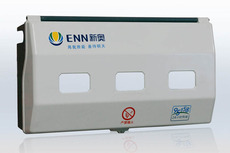 科达丽三户燃气表箱高分子复合材料不生锈耐酸碱防腐蚀使用寿命长
