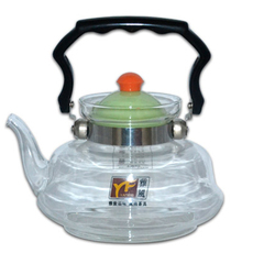 供应 远铃厂家直销 玻璃直火壶 可定制烤花