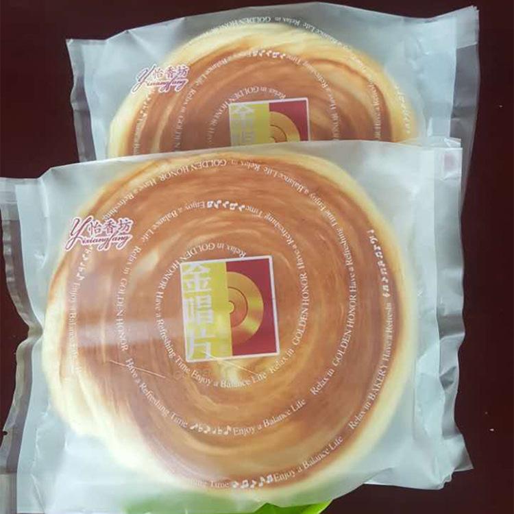 营养早餐糕点手撕软面包批发 黄金唱片面包 健康零食休闲点心批发