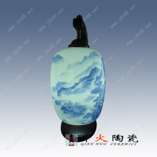 唐龙陶瓷灯具,青花玲珑厨房壁灯,客厅落地台灯