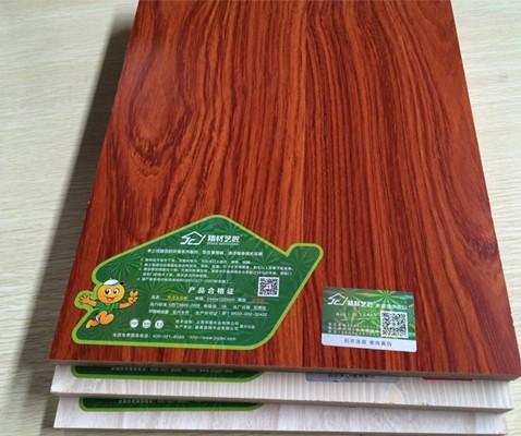 精材艺匠牌 实木厚芯生态板 山东实木板材