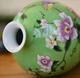供应庐陵手绘瓷中式古典陶瓷花瓶手工彩绘工艺品家居装饰梅瓶定做批发