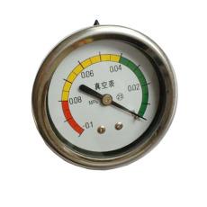 嵌入式不锈钢真空压力表Y-60BFZ/-0.1-0MPa
