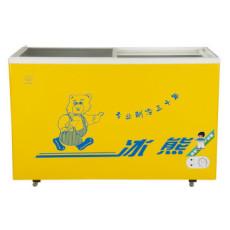 (BingXiong)SC/SD-272 272升冷藏冷冻转换玻璃门冷柜 卧式冰柜