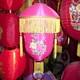 仿古羊皮冬瓜灯笼 圆形纯手工丝绸红灯笼 宫廷灯笼可定制厂家直销