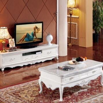 实木茶几客厅家具法式茶几电视柜组合价格–中国网库