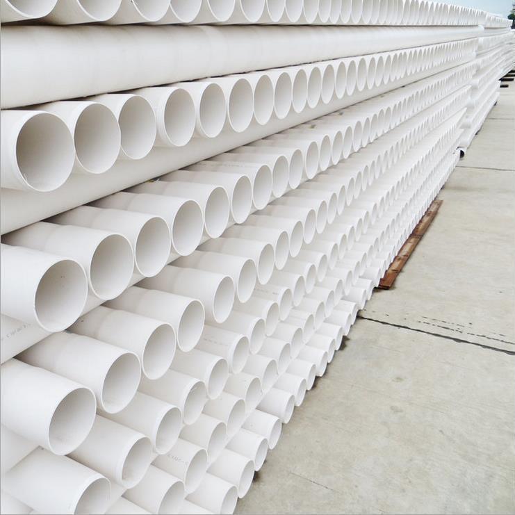 批发PVC管UPVC排水管白色塑料排水管