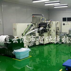供应智欣捷牌面膜自动折叠装袋机  面膜折叠包装机 专业生产厂家