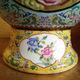 景德镇陶瓷饰品创意 山水花卉精美彩绘花瓶 粉彩瓷仿古花瓶摆件