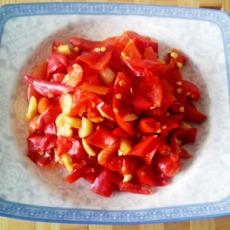 供应 纯手工腌制红辣椒片