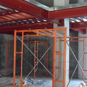 深圳布吉横岗六约厂房钢结构阁楼搭建