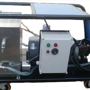 电加热工业设备污渍油泥清洗高温高压清洗机HWLPE 1417