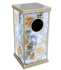 圆形投递口垃圾桶 方形果壳箱 商务烟灰盅 多色可选