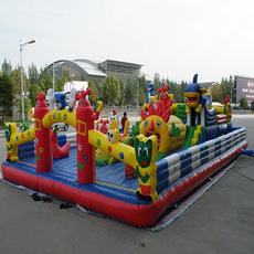 世纪宝贝充气城堡蹦蹦床儿童乐园气模大型室外内玩具滑梯游乐设备