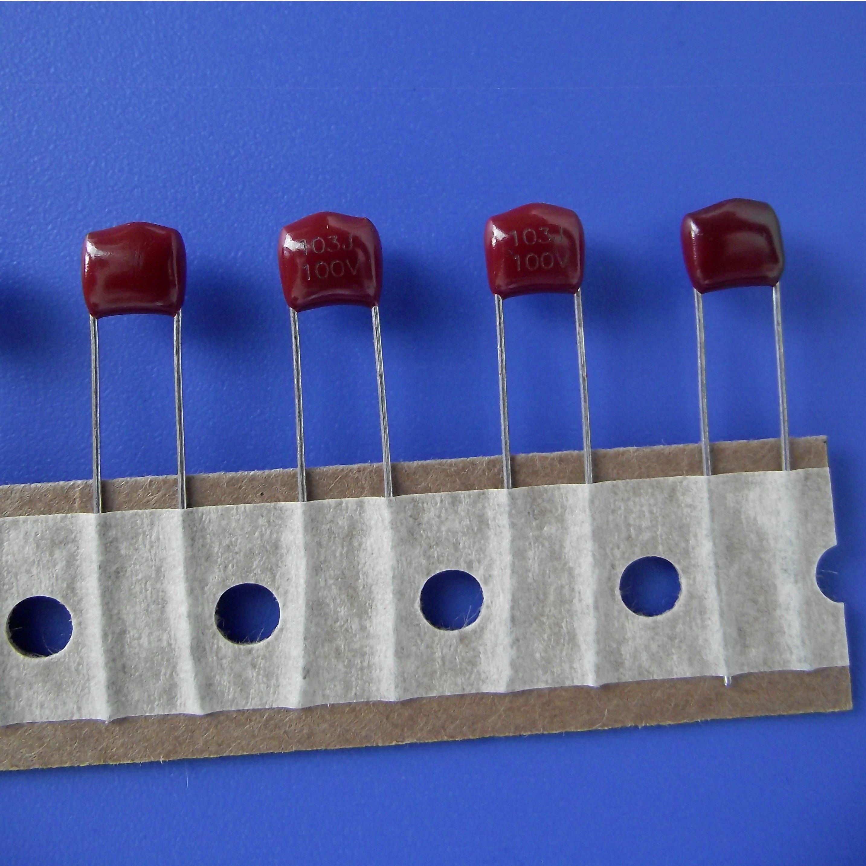 厂家直供 东莞久亦 WB CL21金属化薄膜电容器 MEF103J100V