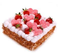 知心爱人 水果巧克力蛋糕