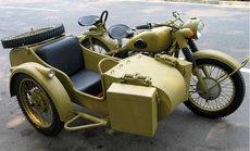 長江750邊三輪摩托車挎子