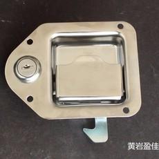 03107不锈钢304抛光盒锁 有锁芯无锁芯 厢货车工具箱配件