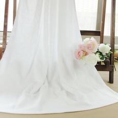 酒店浴巾纯棉白色成人男女