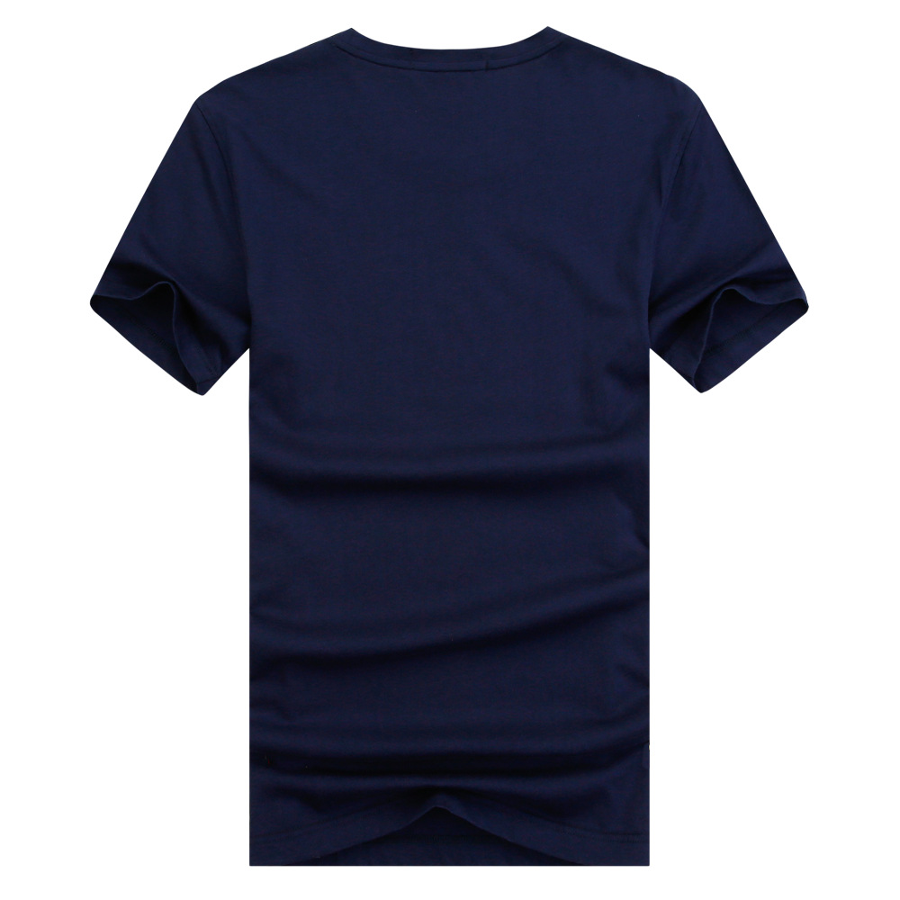 厂家直销2016男式短袖时尚男装圆领品牌男式t恤衫男式t恤短袖纯棉