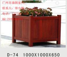 銷售中心綠化花箱 咖啡廳木花架 戶外花箱木質組合 樹池