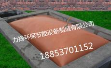 清池出料的软体沼气发酵袋