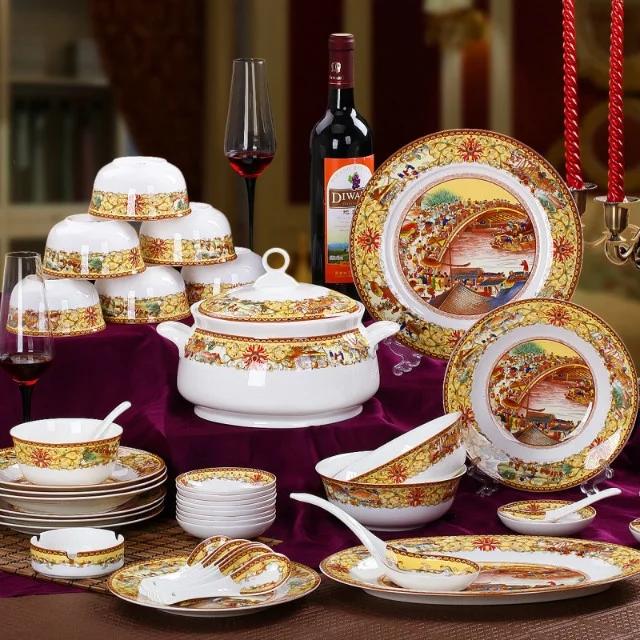 广告宣传礼品餐具批发 景德镇餐具印字LOGO