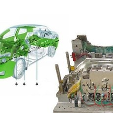 台州注射模公司  制造小康K07车轿车注塑模具生产