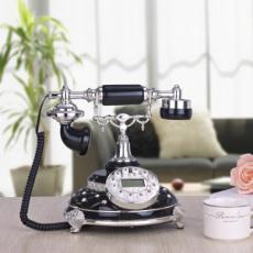 黑色诱惑复古时尚家居电话机 仿古电话机 欧式电话机 高档别墅座机
