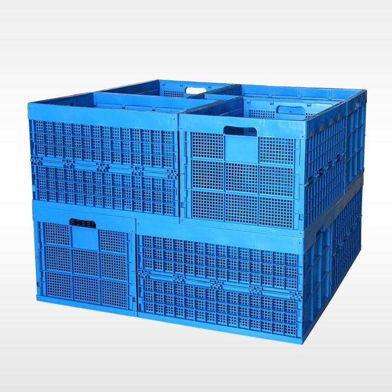 邢台高承重 可堆式折叠物流箱  物流箱批发  厂家直销