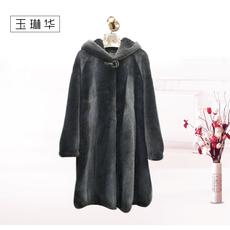 玉琳华阳原毛皮皮草女装时尚水貂
