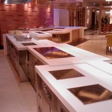 迪克森餐厅设计餐台制作线条流畅风格多样时尚