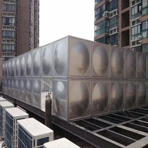 生产安装60吨304不锈钢人防水箱无锡厂家
