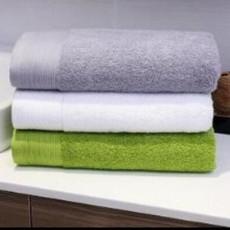 叶语清新进口棉浴巾