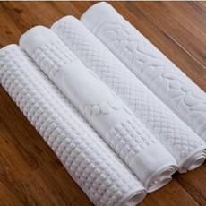 五星级酒店纯棉加厚地垫地巾 浴室卫生间超吸水防滑地巾